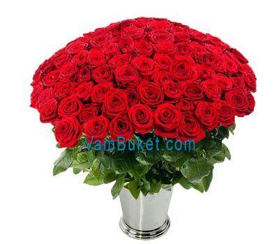 """""""Букет из 75 роз"""" в интернет-магазине цветов vambuket.com"""