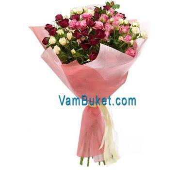 """""""Букет из 9 кустовых роз"""" в интернет-магазине цветов vambuket.com"""