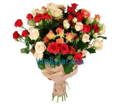 """""""Букет из 15 кустовых роз"""" в интернет-магазине цветов vambuket.com"""