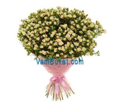 """Bouquet of 51 bush roses"" in the online flower shop vambuket.com"
