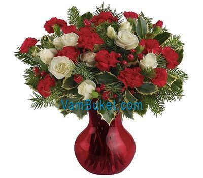"""Bouquet for the New Year"" in the online flower shop vambuket.com"