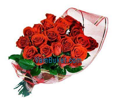 """Букет із 31 червоної троянди"" в интернет-магазине цветов vambuket.com"