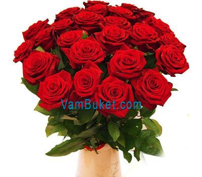 """Bouquet of 23 red roses"" in the online flower shop vambuket.com"