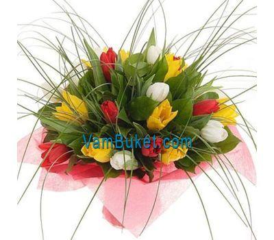 """""""Букет цветов из 23 тюльпанов"""" в интернет-магазине цветов vambuket.com"""