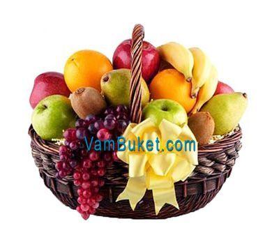 """""""Fruit Basket"""" in the online flower shop vambuket.com"""