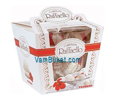 """Sweets - Raffaello. Weight:150 g."" in the online flower shop vambuket.com"