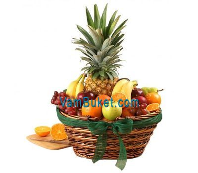 """Fruit Basket"" in the online flower shop vambuket.com"