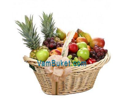 """""""Огромная корзина фруктов"""" в интернет-магазине цветов vambuket.com"""