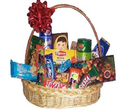 """Gift basket of sweets"" in the online flower shop vambuket.com"