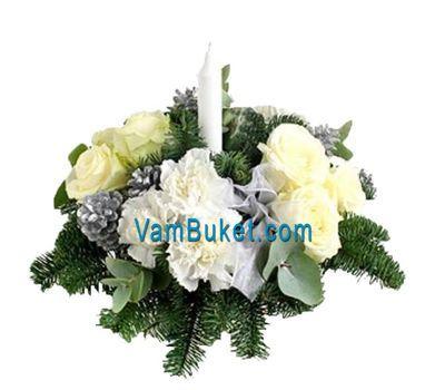 """""""Подарок на Рождество и Новый год"""" в интернет-магазине цветов vambuket.com"""