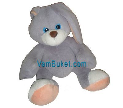 """Soft toy - Bunny"" in the online flower shop vambuket.com"